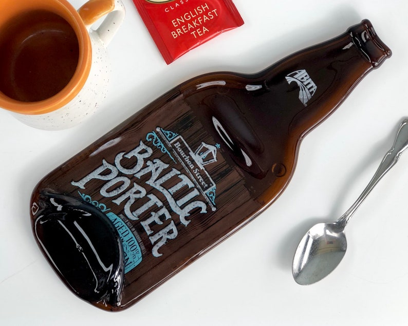 Melted Bottle Cheese Tray Abita Baltic Porter Beer  Abita image 0