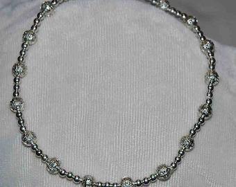 Mary's silver filigree bracelet