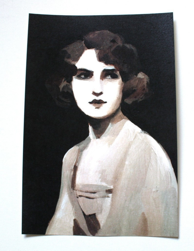 Vintage lady / Print image 0
