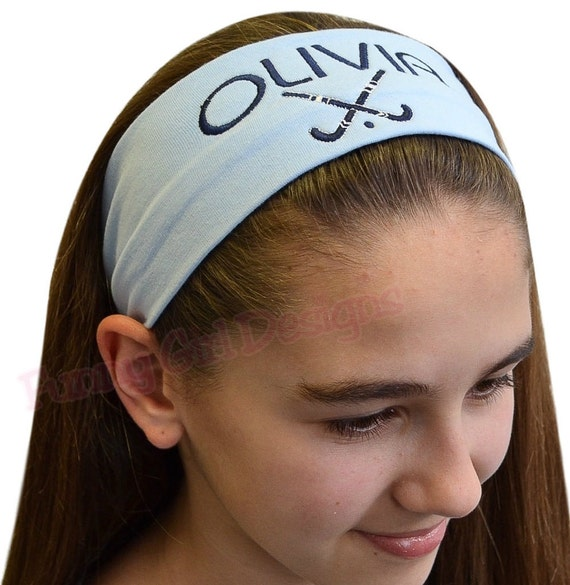 Custom Personalized Designed Cotton Stretch Headband