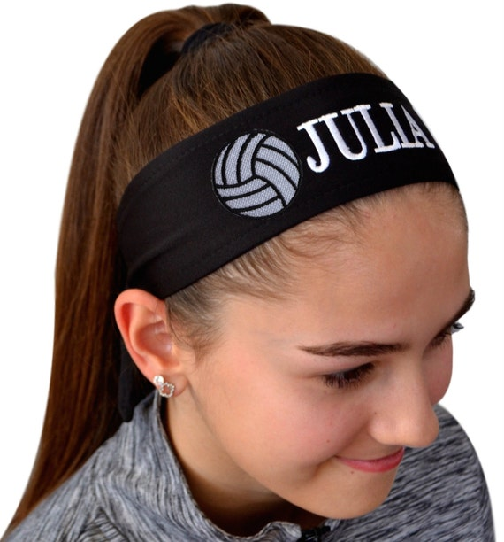 Volleyball TIE BACK Moisture Wicking Sports Headband  190abb6baef