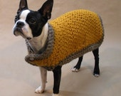 Butterscotch Warm and Thick Dog Coat
