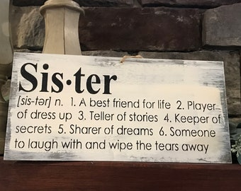 sister sister signs sister gifts birthday gifts christmas gifts sisters for life sister quotes kerriart