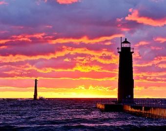Muskegon Aura (vertical) - Michigan Photography