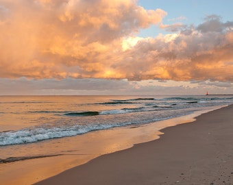 Painted Clouds - Muskegon - Michigan Photography