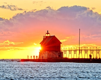 Grand Haven Radiance - Michigan Photography