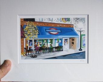 The Pub, Underground