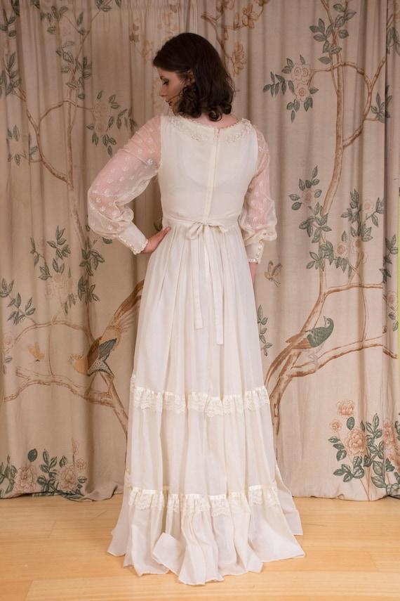 RESERVED Gunne Sax Dress - 1970s Vintage Gunne Sa… - image 8