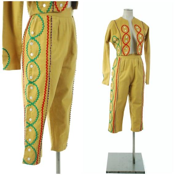 Vintage 1950s Set - Rare 50s Matador Style Pants E