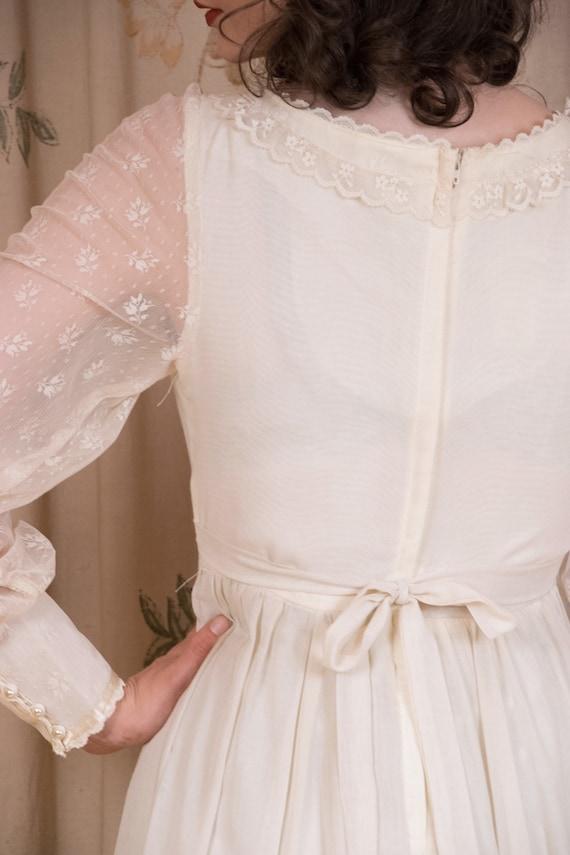 RESERVED Gunne Sax Dress - 1970s Vintage Gunne Sa… - image 10