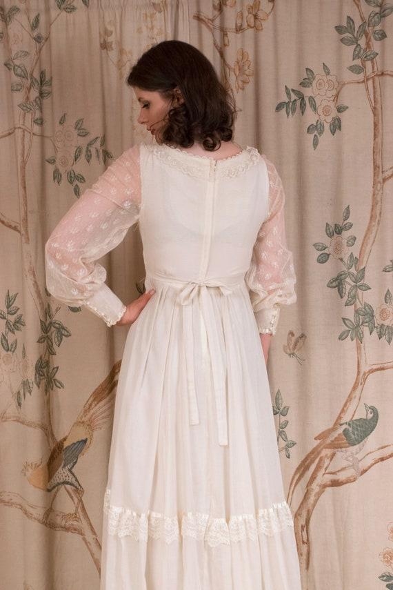 RESERVED Gunne Sax Dress - 1970s Vintage Gunne Sa… - image 9