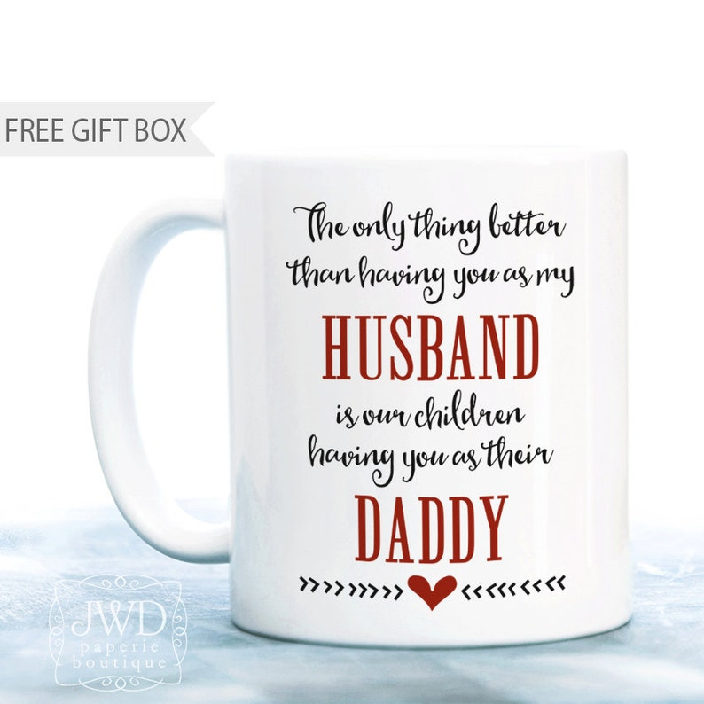 Personalized Gift For Husband Best Dad Ever Birthday Daddy Coffee M