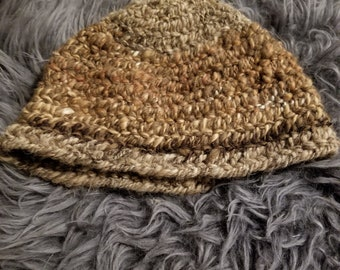 Viking, Norse, Anglo Saxon, Nalbinding hat, Hand spun wool, oslo stitch, alpaca, wool, camel and bison