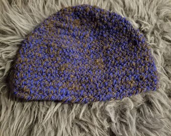 Viking, Norse, Anglo Saxon, Nalbinding hat, Hand spun wool, oslo stitch, alpaca, wool,  and wolf down spun in with it