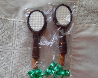 Tennis Racket Pretzel Rods