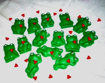 Chocolate Frog Cupcake Toppers