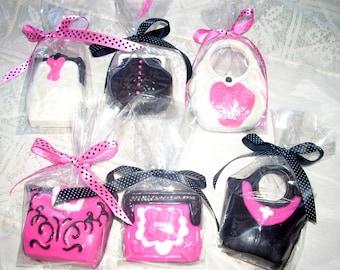 Ladies Chocolate Purse Favors 2 bridal shower birthday tea party