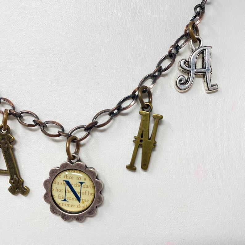 Nanna Necklace Adjustable Vintage Inspired