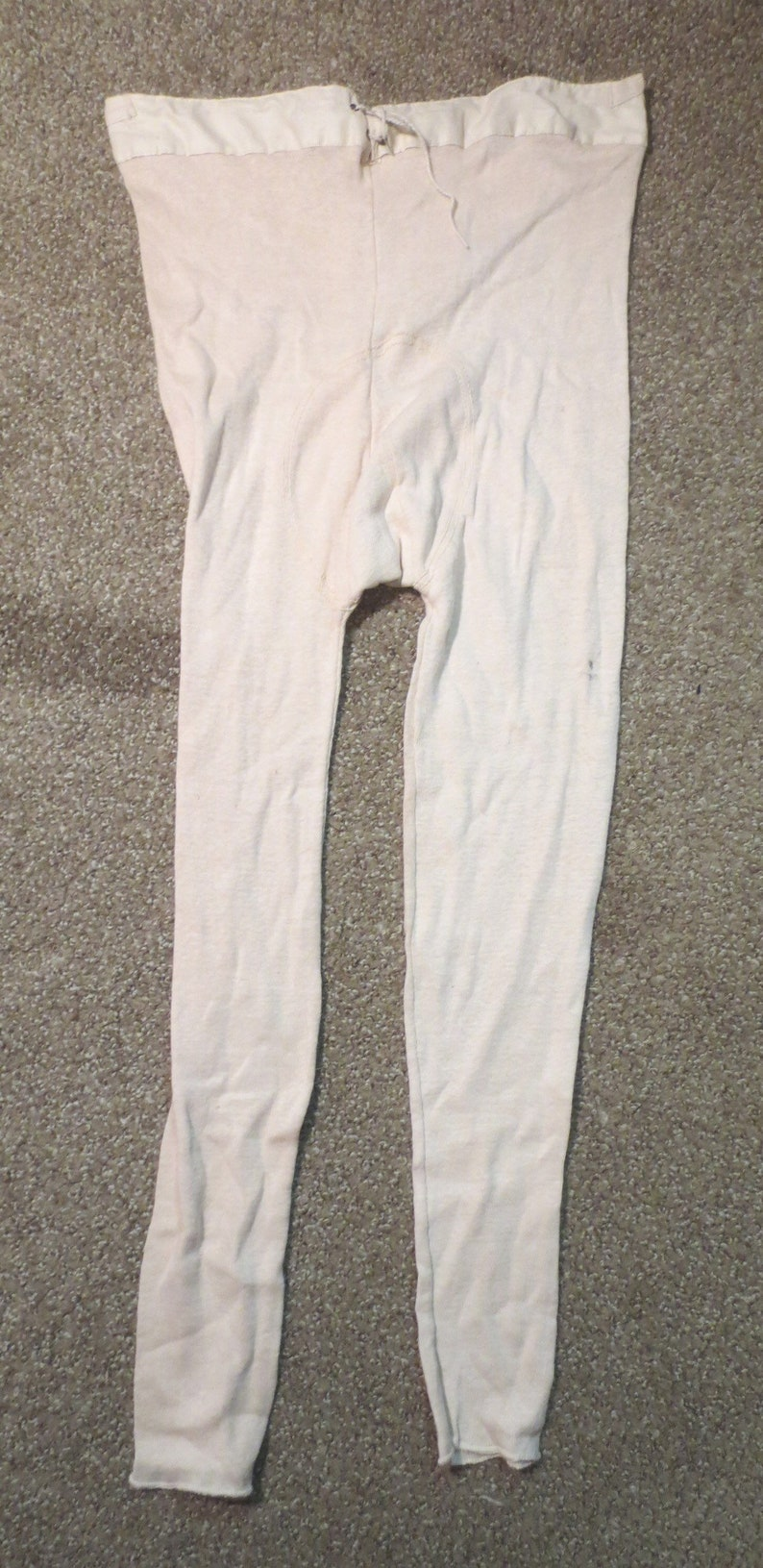 0f253907a29 Antique NOS Victorian Mens Long Underwear   Sized for all