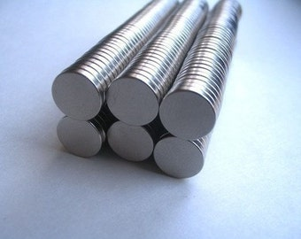 25pc...Neodymium Rare Earth Magnets....Size 3/8 x 1/16