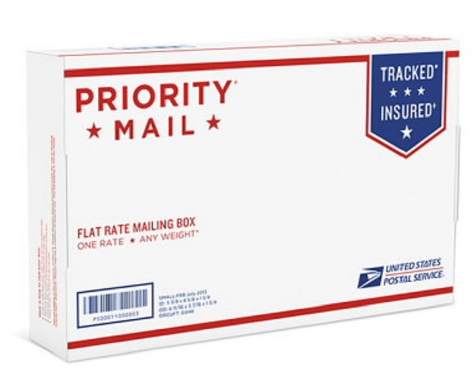 PRIORITY Shipping...Add this listing for 2-Day Expedited shipping