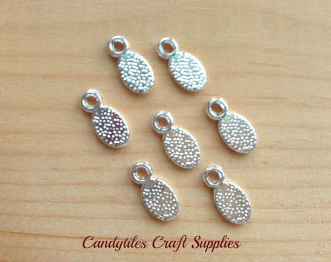 20pk...Earring and Pendant Bails...11x5mm...Great for smaller glass shapes.
