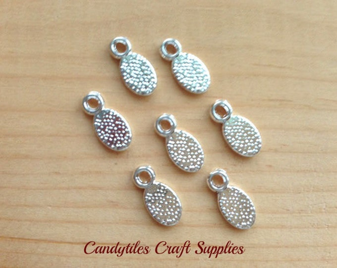 10pk...Earring and Pendant Bails...11x5mm...Great for smaller glass shapes.