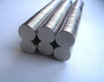 50 Neodymium Rare Earth Magnets....Size 3/8 x 1/16