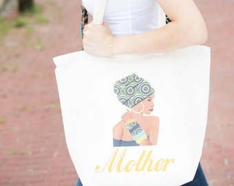 Mom Tote bag, Mothers day gift, Mom gift, Mother tote bag, Canvas bag, Beach bag, Market tote, Canvas tote bag, Gift for mom, Mom birthday