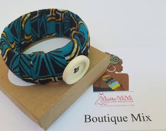Best friend gift, Fabric wrap bracelet, Girlfriend gift, Sister gift, Womens gift, Bridesmaid gift, African jewelry, African bracelet, Gifts