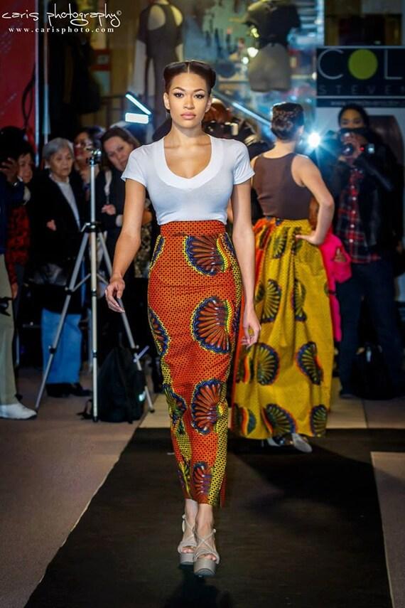 Ankara skirt Waist Ankara Skirt African fabric Tyra Pencil High clothing Ankara African skirt Maxi fabric skirt African Midi gaqvwa1F