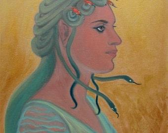 Medusa - portrait study