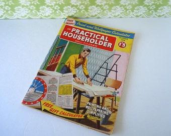 Home repair book etsy vintage 1958 do it yourself home repair diy magazine book solutioingenieria Images