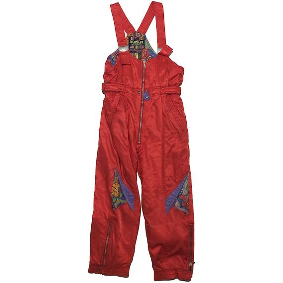 Fred Red Ski Pants