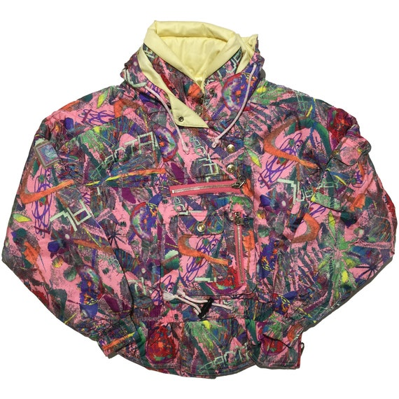 Killy Pink All Over Print Jacket