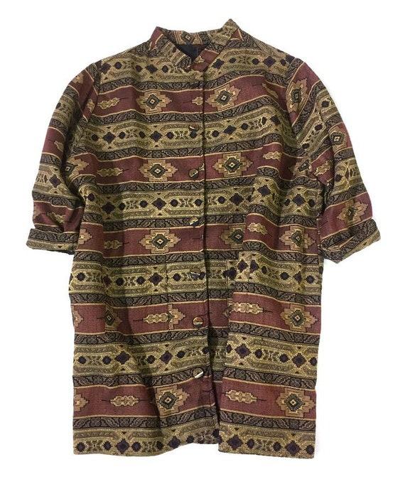 Moroccan Brocade Tapestry Jacket