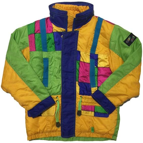 Color Beam's Colour Block Jacket