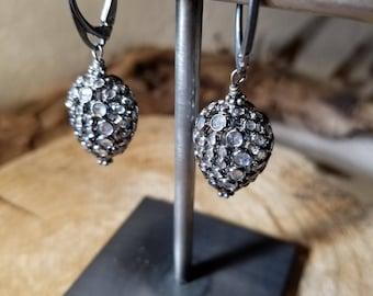 Drops of moonlight earrings