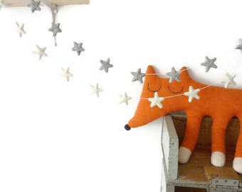 Stars Garland Nursery Star Garland Gold Star Bunting Nursery Decor Nursery Decoration Kids Room Decor Girl Nursery Star Nursery Decor Banner