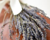 Dried Lavender Bunch, Grosso(French) Lavender, wedding decor, do-it-yourself wedding, lavender