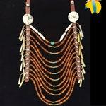 Nez Perce Style Indigenous Loop Necklace