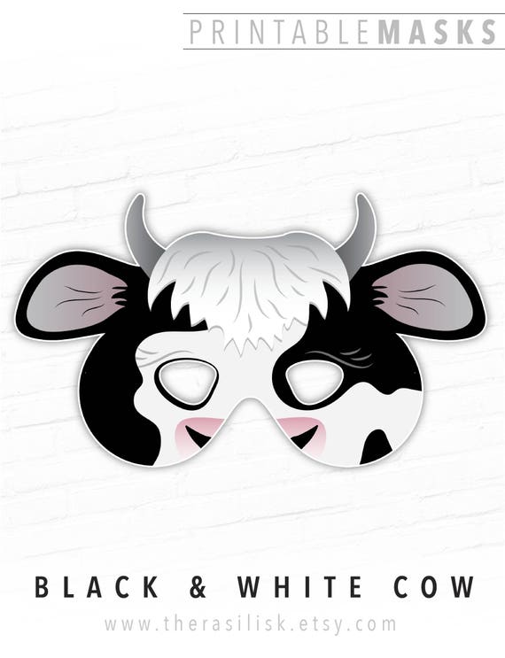 image relating to Printable Cow Mask identified as Cow Mask Animal Mask Halloween Mask Printable Mask Farm Animal Bash Mask Fake Participate in Mask Dress Cow Nativity Fixed Costume Up Mask Cosplay