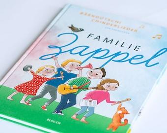 Familie Zappel. German Children's Book. Music for Children. Swiss German. Kids Book. Reading. Bedtime Story. Night. Singing