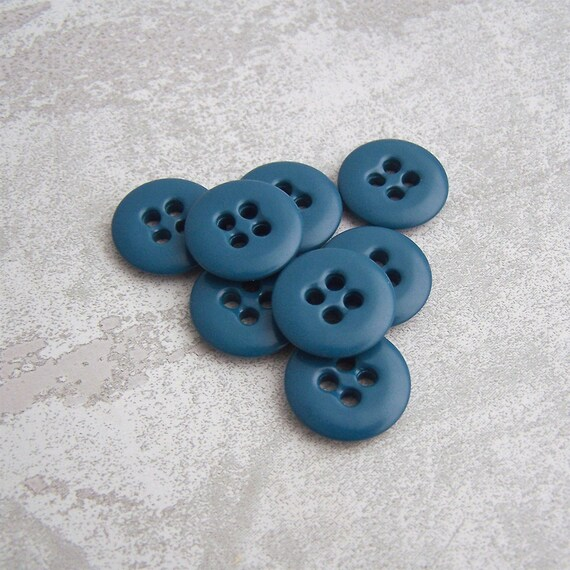 GREY MARBLE BUTTONS 17mm SET OF 5