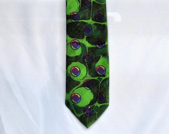 Men's Neck Tie Fall '17 Colors for a Frog Lover  MM-17Frog