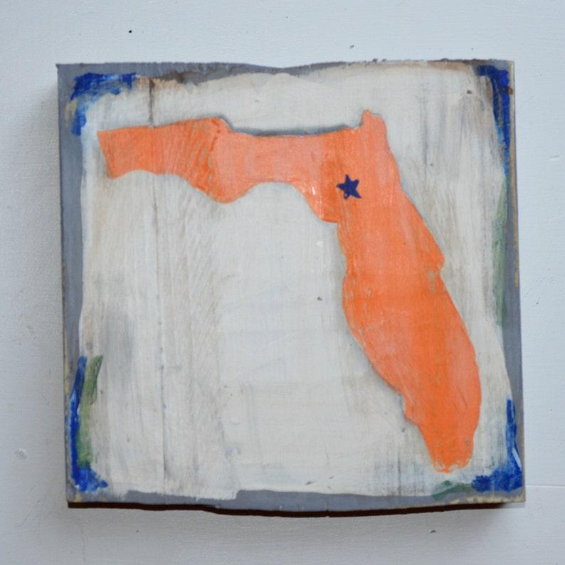 Florida Gators Wood Block image 0
