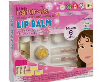 Kiss Naturals DIY Lip Balm Kit