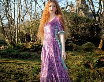 Medieval inspired fairytale dress Wedding gown Handfasting GOT Made to order sizes S - XL
