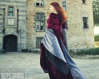 Prêt fait médiévale robe Lotr robe celtique païen mariage Taille Medium