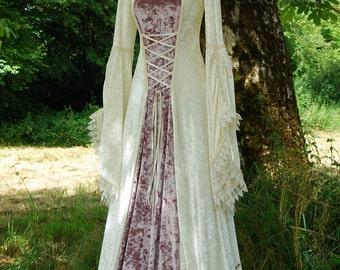 Prêt fait conte de fées romantique mariage robe robe taille Med GRL